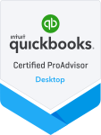 Huberty is an Intuit Quickbooks Certified ProAdvisor in Desktop