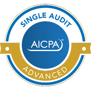 Huberty is a AICPA Advanced Single Audit Certified